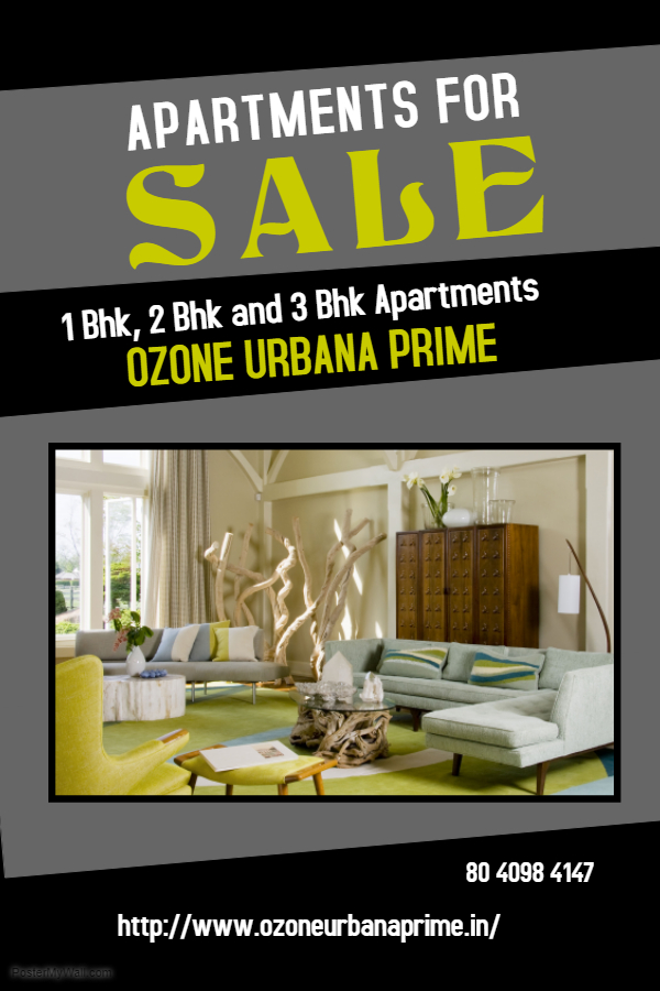 Ozone Urbana Prime is a new project in bangalore.